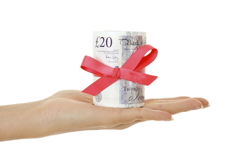 Gifted deposit for mortgage