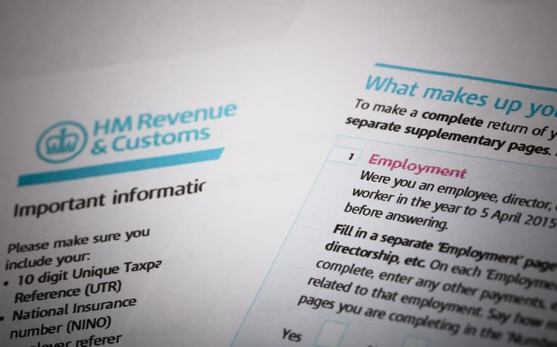 Buy to let tax forms