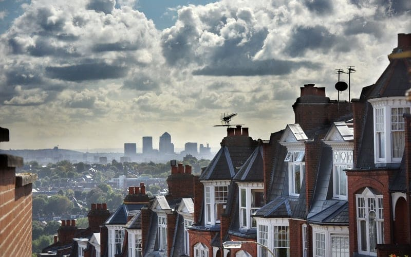 Houses that have been bought with a buy to let mortgage